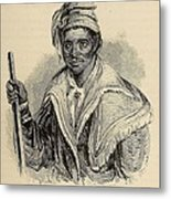 Negro Abraham Was An African Seminole Metal Print