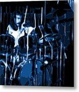 Blue Drums Metal Print