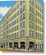 Neiman Marcus Department Store In Dallas Tx In The 1950's Metal Print