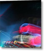 Neon Nights Metal Print