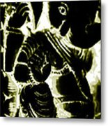 Neonganpati Metal Print
