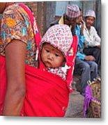 Nepali Baby Metal Print