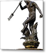 Neptune God Of The Sea Metal Print by Artur Bogacki