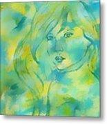 Nerissa  Daughter Of The Sea Metal Print