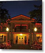 Nevada Governors Haunted Halloween Mansion Metal Print