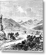 Nevada: Washoe Region, 1862 Metal Print
