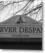 Never Despair Metal Print