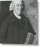 Nevil Maskelyne, English Astronomer Metal Print
