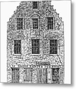 New Amsterdam: House, 1626 Metal Print