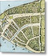 New Amsterdam Metal Print by Pg Reproductions