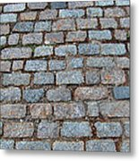 New Bedford Mass Brick Street 2006 Metal Print