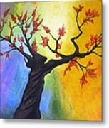 New Blossoms In Spring Metal Print by Rejeena Niaz