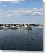 New Brunswick Harbour Metal Print