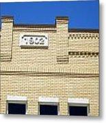 New Building Looking Old Metal Print