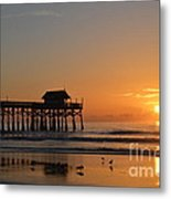 New Day On The Beach Metal Print
