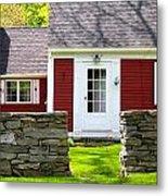 New England Farmhouse Metal Print