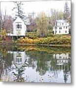 New England Reflections 3935 Metal Print