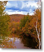 New Hampshire Fall Color Part Three Metal Print