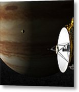 New Horizons Flies By Jupiter Metal Print