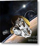 New Horizons Spacecraft At Pluto Metal Print