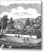 New Jersey Farm, C1810 Metal Print