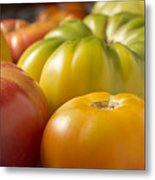 New Jersey Heirloom Tomatoes Metal Print