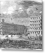 New Jersey Hotel, 1853 Metal Print