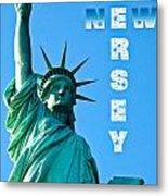 New Jersey Metal Print