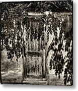 New Mexico Door Metal Print