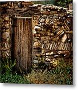 New Mexico Door II Metal Print