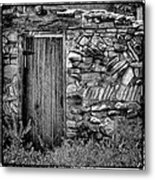 New Mexico Door IIi Metal Print