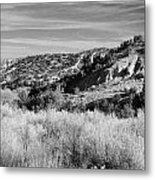 New Mexico Series - A View Of The Land Metal Print