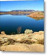 New Mexico Series - Abiquiu Lake Metal Print