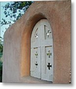 New Mexico Series - Adobe Arch Metal Print