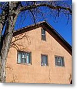 New Mexico Series - Adobe Building Metal Print