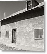 New Mexico Series - Adobe House In Truchas Metal Print