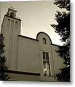New Mexico Series - Our Lady Of Guadalupe Church Metal Print