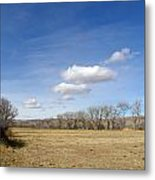 New Mexico Series - The Long View Metal Print
