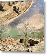 New Mexico Series A River View Metal Print