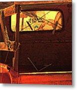 New Mexico Sundown Metal Print