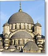 New Mosque In Istanbul Metal Print