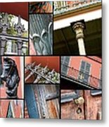 New Orleans Collage 1 Metal Print