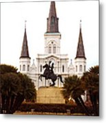 New Orleans St. Louis Cathedral Metal Print