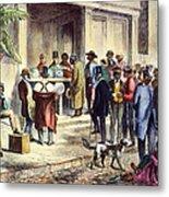 New Orleans: Voting, 1867 Metal Print