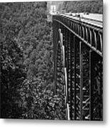 New River Gorge Bridge Fayetteville West Virginia Metal Print