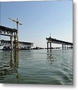 New Ulyanovsk Bridge, Russia Metal Print