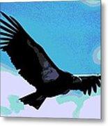 New World Vulture Metal Print