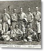 New York Baseball Team Metal Print