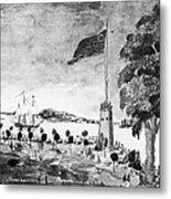 New York: Battery, 1793 Metal Print