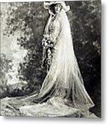 New York: Bride, 1920 Metal Print